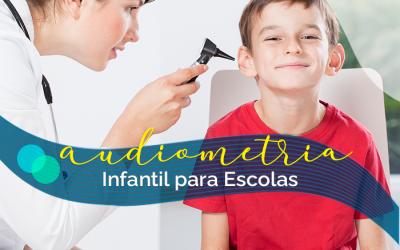 Audiometria Infantil para Escolas