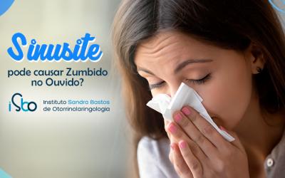Sinusite pode causar zumbido no ouvido?